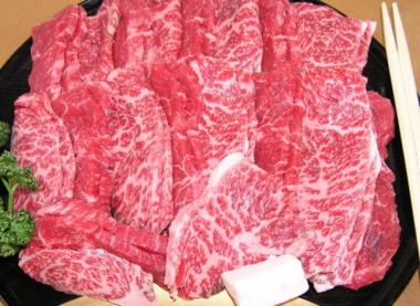 特選焼肉2種盛500g